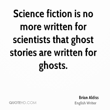 Brian Aldiss SF quote