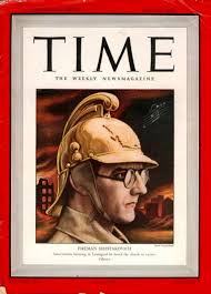Shostakovich Leningrad Symphony in his fire helmet