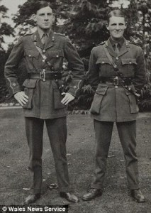 Sassoon with David Cuthbert Thomas great friend who was killed