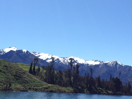 17. Queenstown Remarkables from Lake Wakatipu