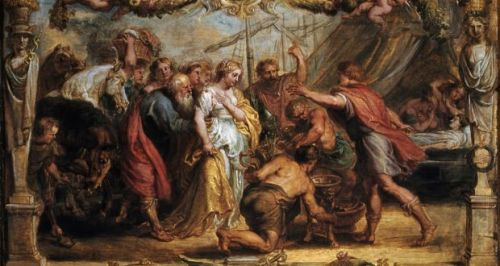 SILENCE OF GIRLS Briseis Given Back to Achilles, Peter Paul Rubens