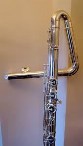Astra quarter-tone bass flute